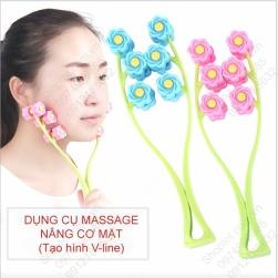 Dụng cụ massage mặt tạo cằm V-Line bằng nhựa PP dẻo và bền