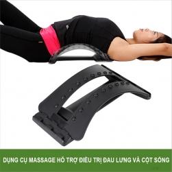 Dụng cụ massage hỗ trợ điều trị đau lưng, cột sống, thoái hóa đốt sống lưng, đốt sống cổ và thoát vị đĩa đệm