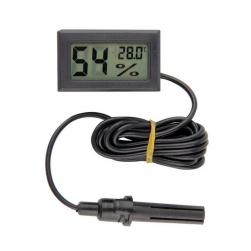 Nhiệt kế đo nhiệt độ kiêm độ ẩm đa năng FY12 với đầu cảm biến rời (hình chữ nhật)
