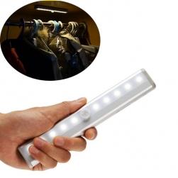 Đèn led cảm biến hồng ngoại L0406 gắn tủ quần áo, hành lang, cửa phòng, kho