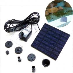 Máy bơm chìm mini năng lượng mặt trời AS180 cho đài phum nước mini, tiểu cảnh, bể cảnh