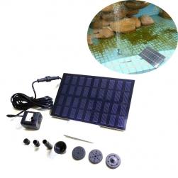 Máy bơm chìm mini năng lượng mặt trời AS180-0918A cho đài phum nước mini, tiểu cảnh, bể cảnh