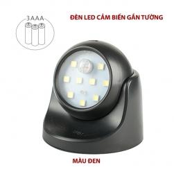 Đèn LED cảm biến hồng ngoại gắn tường ESEN61 sử dụng 3 pin tiểu AAA