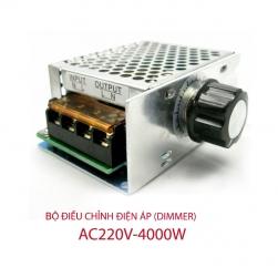 Bộ chiết áp (dimmer) 41600B 4000W-220V cho quạt sưởi, ánh sáng, động cơ