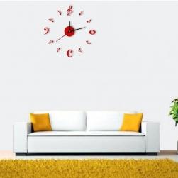 Đồng hồ dán tường tự làm DIY loại nhỏ S5168 (Đường kính max 45cm)