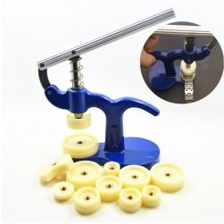 Dụng cụ ép đáy đồng hồ với các khuân bằng nhựa ABS (kích thước từ 20-50mm)