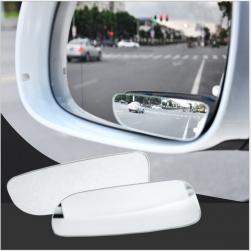 Bộ 2 gương cầu lồi chiếu hậu xóa điểm mù xe hơi xoay 360 độ - loại dài