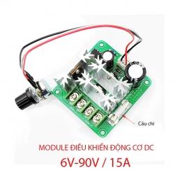 Module mạch điều chỉnh tốc độ động cơ điện 1 chiều CCMHCN DC 6V-90V/15A