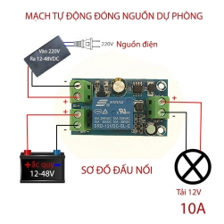 module mach tu dong chuyen nguon su co mini 1
